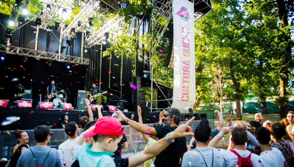 Amientazo en el festival Cultura Quente