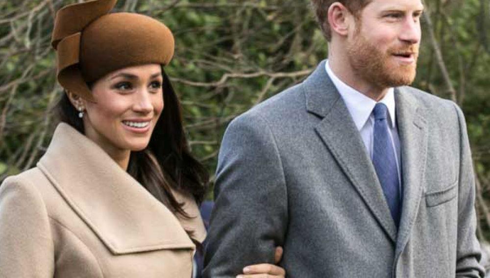 El príncipe Harry y su futura esposa