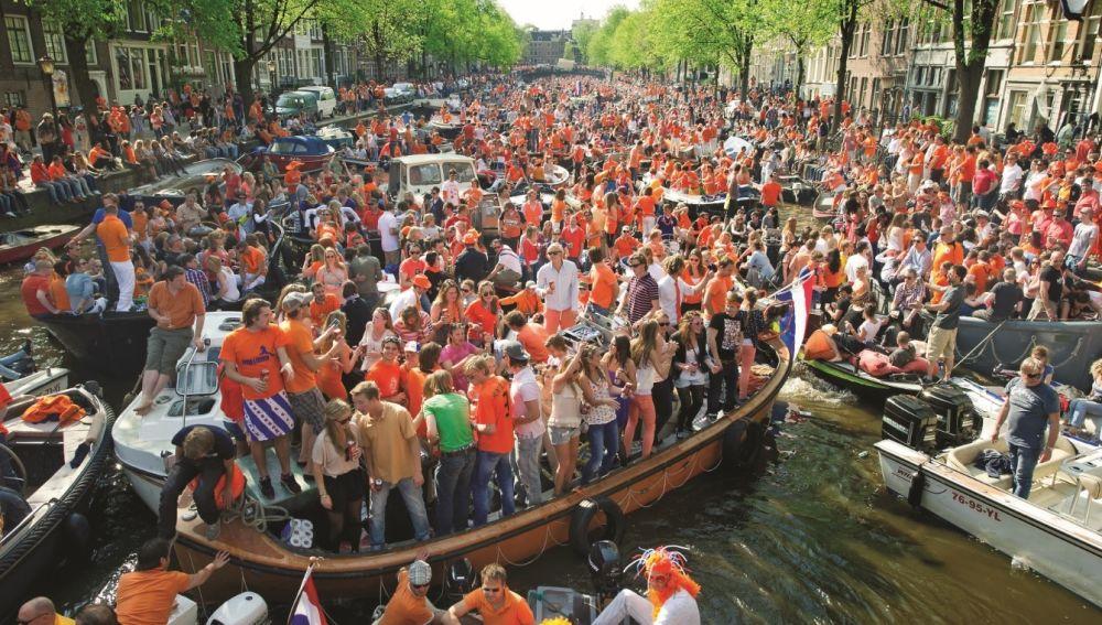 El día del Rey. Holanda