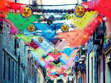 Calles decoradas