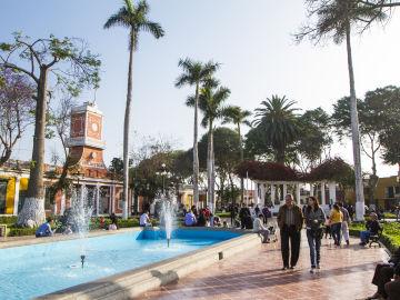 Plaza de Armas de Barranco. Lima