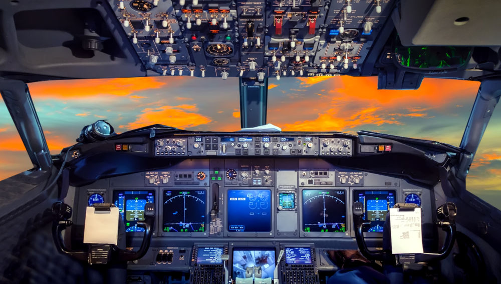 Cabina de avión