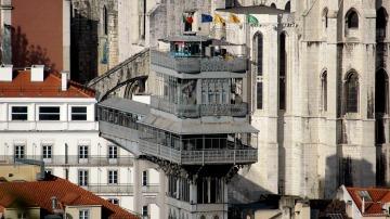 El Elevador De Santa Justa El único Ascensor Vertical De Lisboa