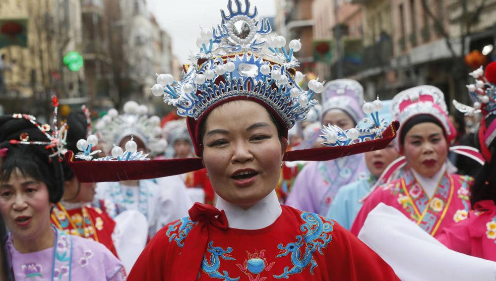 Celebración año nuevo Chino