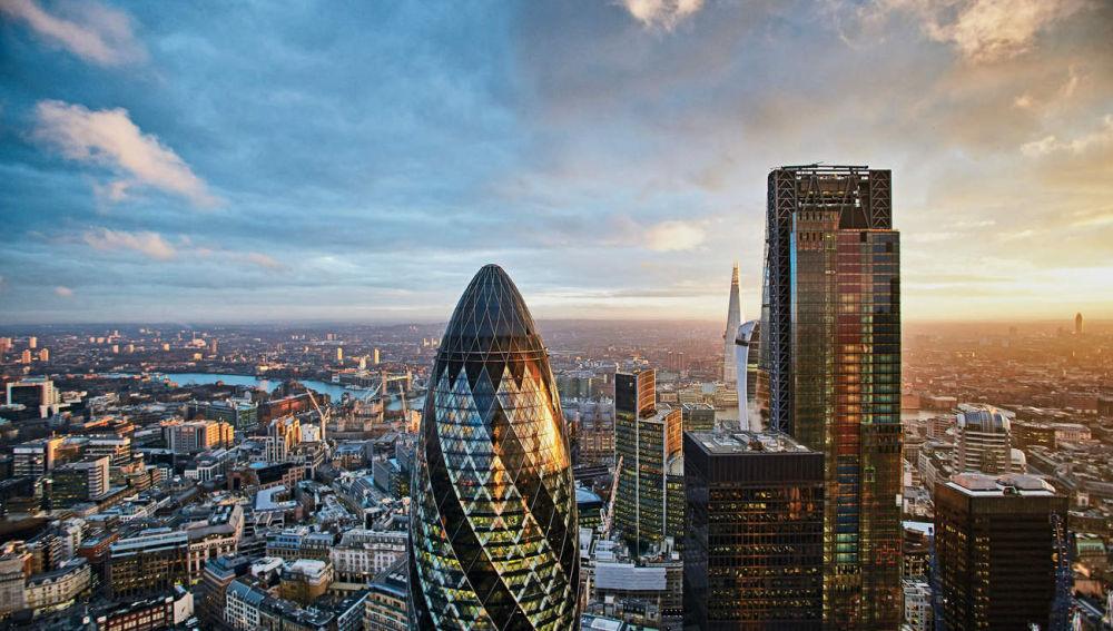Londres desde el Duck and Waffle