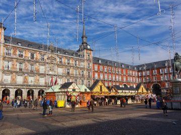 Mercadillo Plaza Mayor. Madrid
