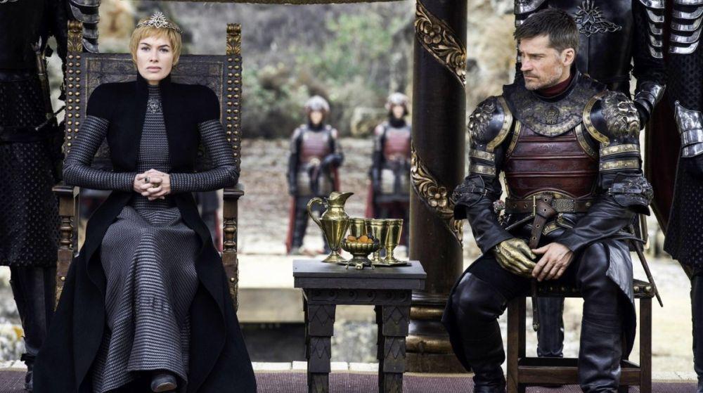 Cersei y Jaime en 'Juego de Tronos'