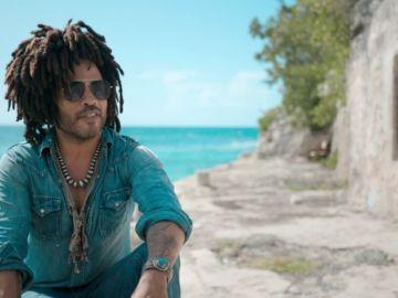 Lenny Kravitz en las Bahamas